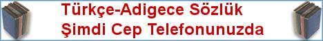 Türkçe-Adigece Cep Sözlük